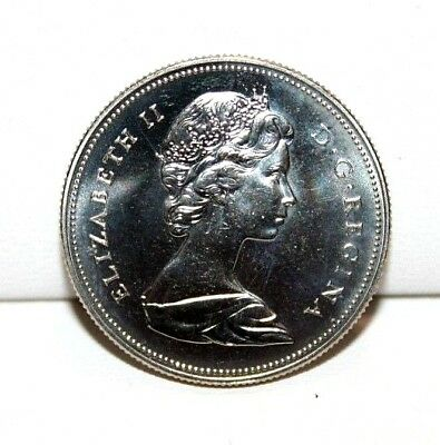 1970 Canada 50 Fifty Cent Proof Like Coin 4