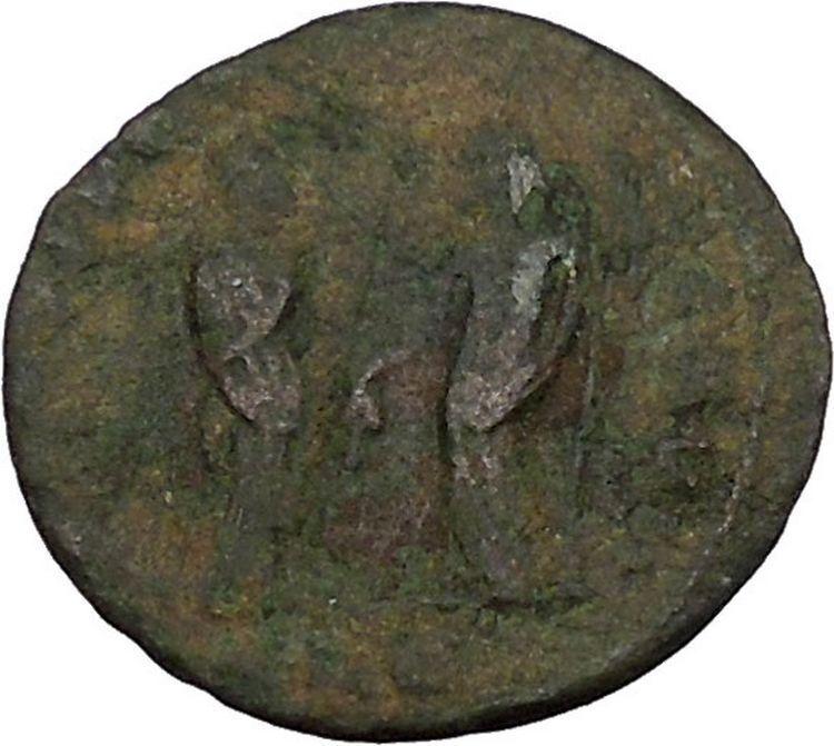 MAXIMIAN 308AD Rare ALEXANDRIA mint HALF FOLLIS Ancient Roman Coin i45807 2