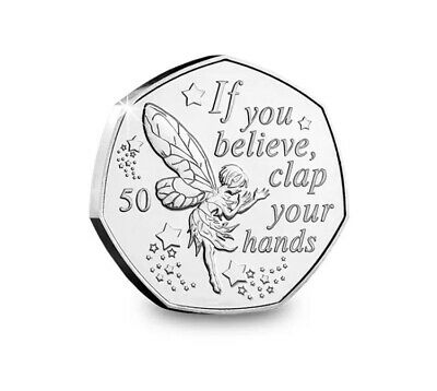 UNC Peter Pan 50p Set From IOM Bags 6
