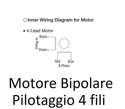 Stepping Motor Nema23 1.75Nm VEXTA PK268D14A Oriental Motor 1.8°/Step 6V 17.5KgF 8