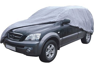 Breathable Water Resistant Indoor Outdoor Full Car Cover for Mercedes SLK-Class 7
