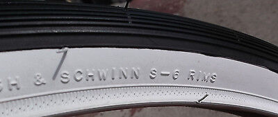 26 1 3//8 Schwinn Whitewall tire for collegiate breeze traveler s6 s 5 kenda