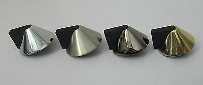KARCHER Design Bodentürstopper Kegel D = 50 mm Höhe 25 mm Farbe Nickel matt