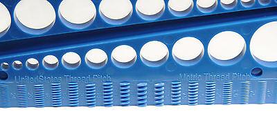Fastener Screw Bolt Nut Thread Measure Gauge Size Checker Standard & Metric 2