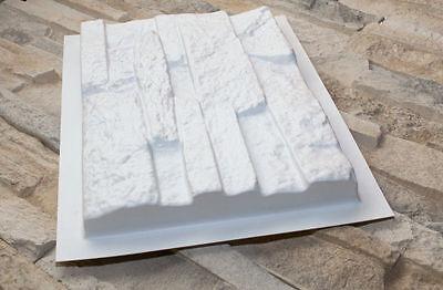•48 pcs plastic molds *VERMONT* for concrete veneer wall stone stackstone tile •