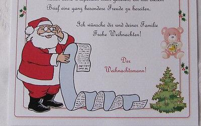 Personalisieter Brief Vom Weihnachtsmann Fur Ihr Kind 8