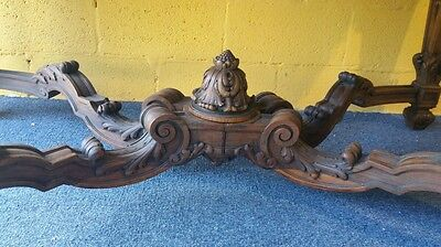 French regency style center table highly carved marble monumental size museum 3