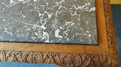 French regency style center table highly carved marble monumental size museum 5