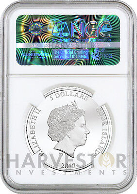 2017 Fantastic Beasts - Magical Congress Silver Coin - Ngc Pf70 First Releases