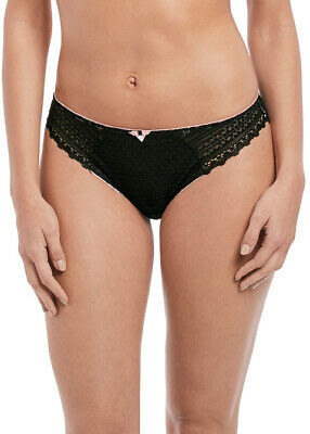 Freya Daisy Lace Brief, Knickers, Panties 5135 Noir New Womens Various Sizes 4