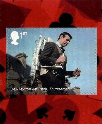 James Bond 2020 Mint Presentation Pack 583 Stamps Sheet Prestige & Retail Books 8