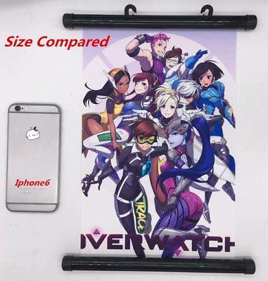 """Anime Naruto manga Wall Scroll Poster cosplay8""""x11"""" C 2"""