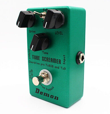 Handmade upgraded TS9 TS808 Overdrive/Distortion Tube Screamer 2 in1 true bypass
