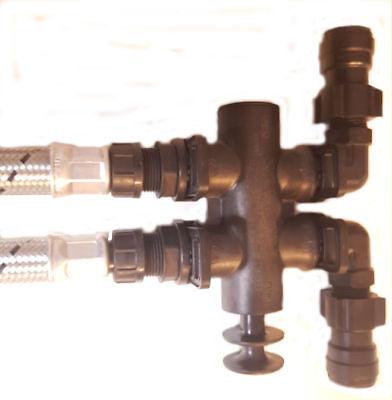 Softenergeeks Universal Water Softener installation kit. 4
