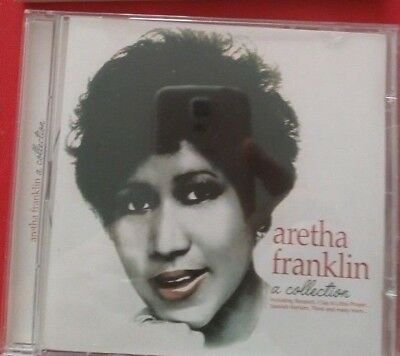 The Late Great Queen of Soul 👑 Aretha Franklin: A Collection VERY RARE VG CD 🎵 2