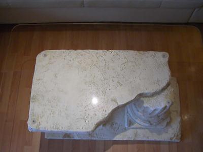 steintisch marmortisch steinmöbel couchtisch fossiltisch glastisch, Hause deko