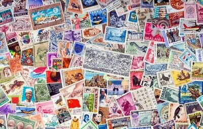 1000s DIFFERENT Mint/Used WORLDWIDE Stamps Collection Lot Pack of 100 - BONUS!!! 4