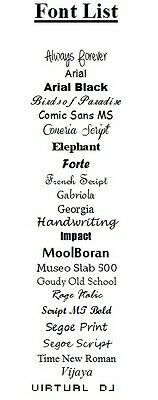 Large White Iron On Personalised Name Clothing Labels (47*15mm) - Warm Wash