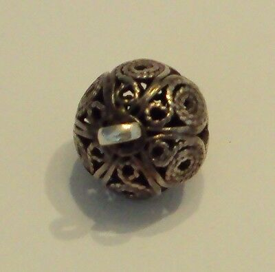 Amazing Post-Medieval Silver Pendant With Filigree # 477 5