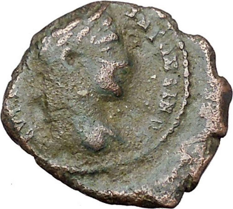 ELAGABALUS 218AD Marcianopolis FIERY ALTAR Authentic Ancient Roman Coin i45411 2