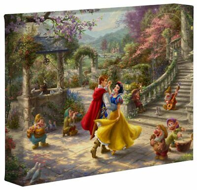 Thomas Kinkade Studios Disney 8 x 10 Gallery Wrapped Canvas (Choice of 6) 3