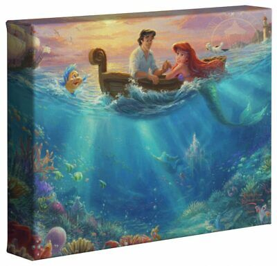 Thomas Kinkade Studios Disney 8 x 10 Gallery Wrapped Canvas (Choice of 6) 5