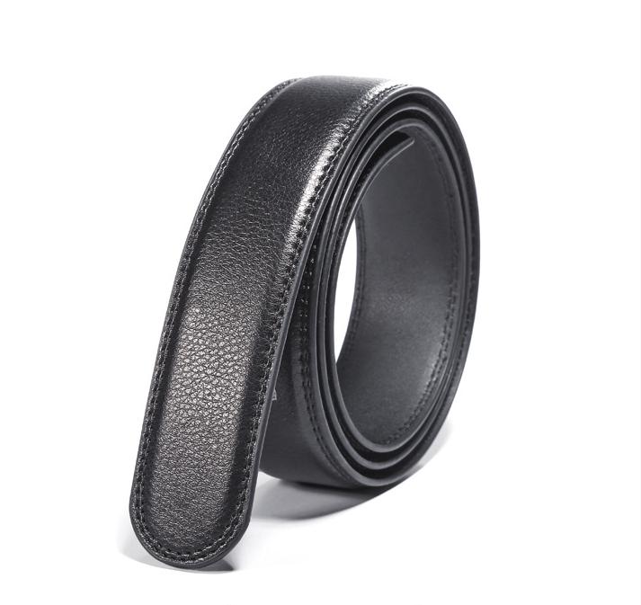 2 X Herren Ersatz Automatik Leder Gürtel Gürtelriemen Belts ohne Schnalle