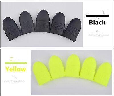 5pcs/set UV Gel Polish Remover Wraps Soak Off Cap Clip Nail Art Manicure Tools 5