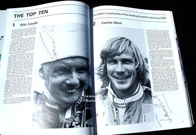Beatles George Harrison & Lauda, Hunt,& 12 Formula 1 Autographs AUTOCOURSE 1978 6