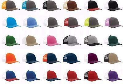 ... BULK ORDER 100 Richardson Trucker Snapback Cap 112 Baseball Hats  WHOLESALE PRICE 2 6a9af8ac6