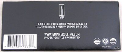 Empire Rolling Papers 5 WALLETS of $100 Dollar Bill Paper Plus Tips (50 PAPERS) 4