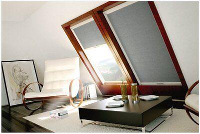 Dachfensterrollo für Velux GGL GPL GGU GPU GHL 100% Verdunkelung , Dachrollo 5