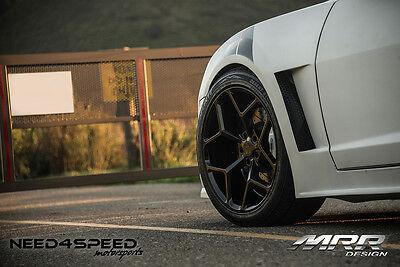 MRR M228 20X10/20X11 5x120 Black Rims Fits Camaro SS 1SS