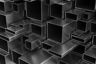 Aluminium Square Rectangular Tube Box Section Many sizes lengths Aluminum Alloy 2