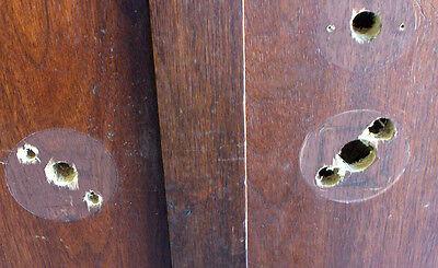 "1 Pair Mahogany & True Divided Glass Doors for 6'-0"" x 8'-4"" X 1 3/4""(72""x100"") 3"