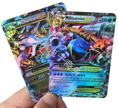 Pokemon TCG 20 MEGA CARDS EX LOT RARE HOLO GUARANTEED Flash Trading Game Cards 3