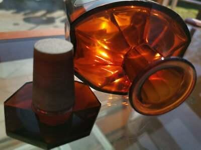 Apotheker - Träumchen an Apothekerglas - Schwer und sehr schick - Unikat - ALT-1 7