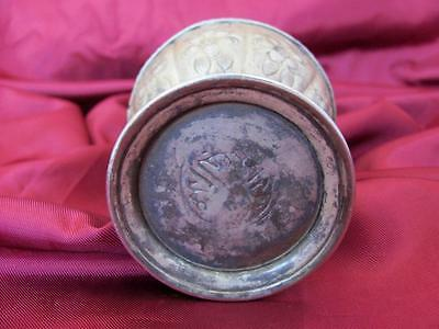 1700s ANTIQUE OTTOMAN MUSLIM SILVER ROSE WATER SPRINKLER MARKED XTR.RARE 3