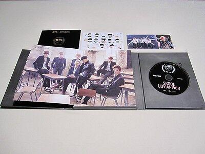 US SHIPPING BTS-[SKOOL LUV AFFAIR] 2nd Mini Album CD+PhotoCard+Book Sealed 4