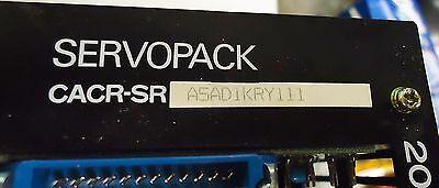 Yaskawa Electric Servopack M/N Cacr-Sr A5Ad1Kry111 200V Made In Japan S/N 783621 4