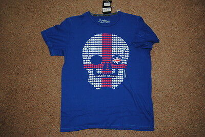 Joystick Junkies England Skull Invaders T Shirt Bnwt Official Official Rugby 2
