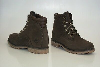 TIMBERLAND WATERVILLE 6 Inch Boots Gr 39 US 8 Waterproof