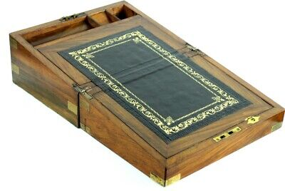 Antique Victorian Rosewood Writing Slope Stationery Box - FREE Shipping [PL4916] 2