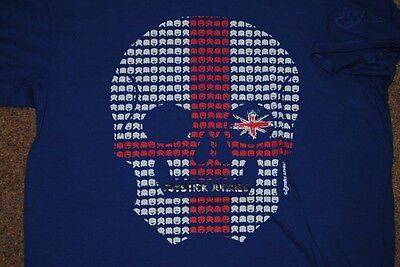 Joystick Junkies England Skull Invaders T Shirt Bnwt Official Official Rugby 3