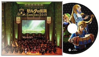 THE LEGEND OF ZELDA CONCERT 2018 Limited Edition 2CD + BLU-RAY JAPAN Tracking 4