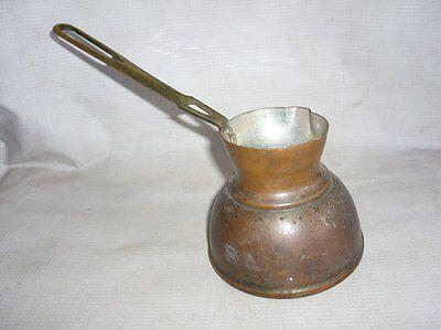 Antique Ottoman Empire Copper Coffee Pot 19 Century 2