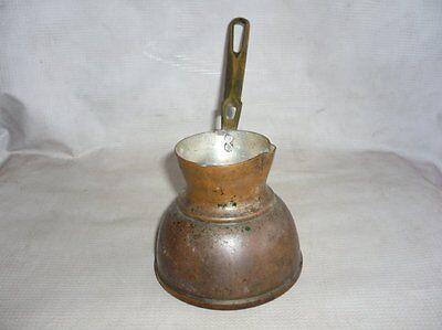 Antique Ottoman Empire Copper Coffee Pot 19 Century 4