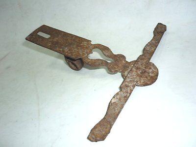Antique Ottoman Handforged Iron ClothesHanger 18 Century 6