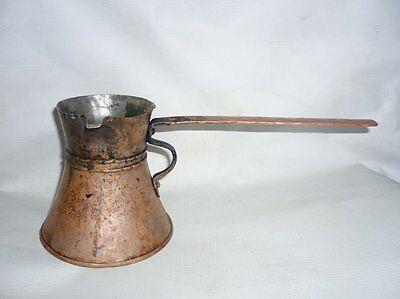 Antique Ottoman Empire Copper Coffee Pot 19 Century