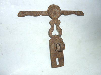 Antique Ottoman Handforged Iron ClothesHanger 18 Century 2